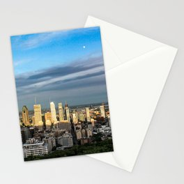 Montreal Skyline Stationery Cards