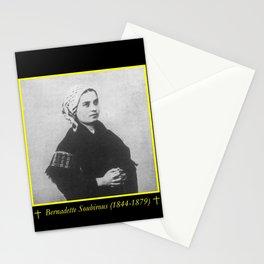 Billard Perrin - Portrait of Bernadette Soubirous Stationery Cards