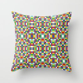 ruboku pattern Throw Pillow