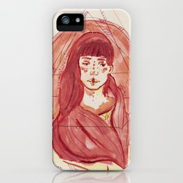Pink::. iPhone Case