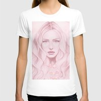water colour T-shirts featuring Water Colour Girl by DeeDee Design