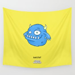 Bounceefluff Wall Tapestry
