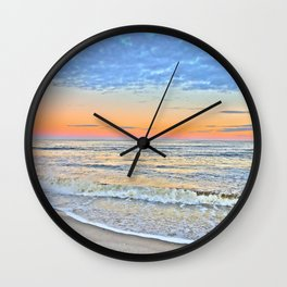 Serene Sunset Wall Clock