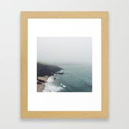 Irish Coast #1 Framed Art Print