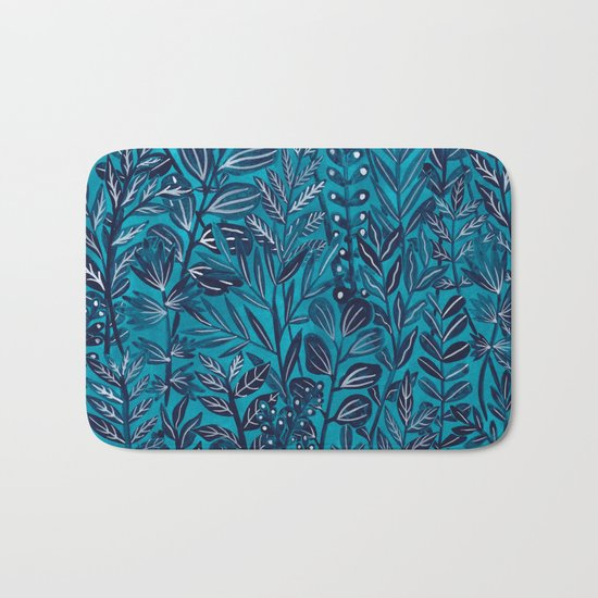 Blue Monday Bath Mat