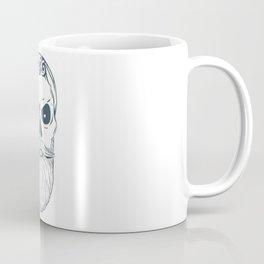 Fear the beard - Halloween Hipster Coffee Mug