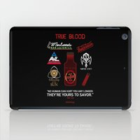 true blood iPad Cases featuring True Blood Logos by CLM Design