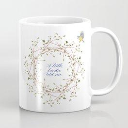 A little birdie told me... Coffee Mug