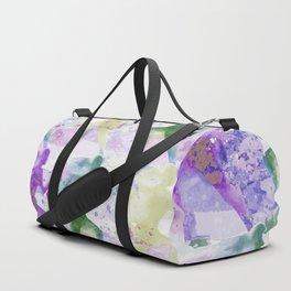 Watercolor women runner pattern Duffle Bag