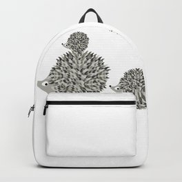 Hedgehogs family Backpack