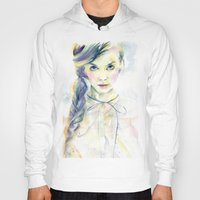 ultraviolence Hoodies featuring Ultraviolence by Cora-Tiana