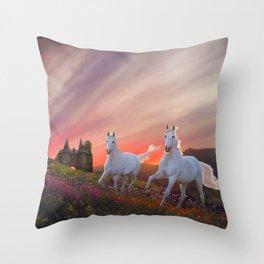 A Scottish Fantasy Throw Pillow