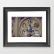 Angel In The Water Framed Art Print