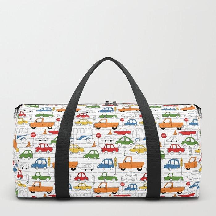 Busy Traffic Pattern Duffle Bag