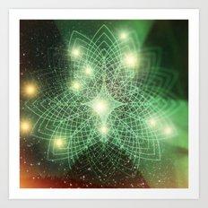 Geometry Dreaming Art Print