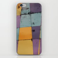hot air balloon iPhone & iPod Skins featuring Hot Air Balloon by Monty
