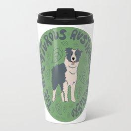 Adventurous Australian Shepherd Travel Mug