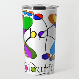 Trapsanella - be colourful Travel Mug