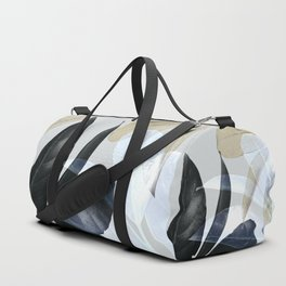 Moody Leaves II Duffle Bag