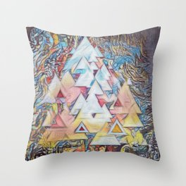Ones and Twos Throw Pillow