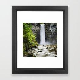 Taughannock Falls Waterfall Framed Art Print