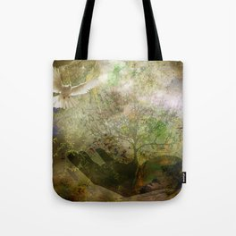 Trees For Peace Tote Bag