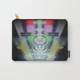 Abandoned Signal [series: Glitch Re:Work] Carry-All Pouch