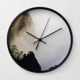 La Palma mountains Wall Clock