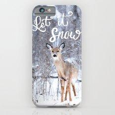 Let it Snow Christmas iPhone 6s Slim Case