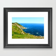 California Cove Framed Art Print