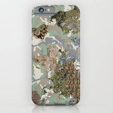 CAMO WORLD ATLAS MAP (camo) Slim Case iPhone 6s