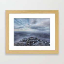 Summit Of Schiehallion Framed Art Print