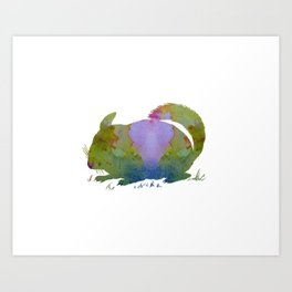 Chinchilla Art Print