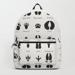 Common Animal Tracks Backpack