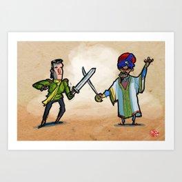 Use Verb on Noun #27: King's Quest VI Art Print