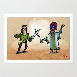 Use Verb on Noun #27: King's Quest VI Art Print