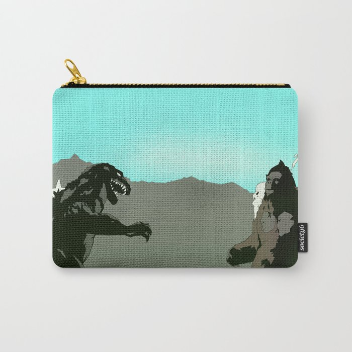 King Kong vs Godzilla Carry-All Pouch