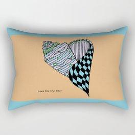 Love for the Sea Rectangular Pillow