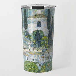 Gustav Klimt - Church in Cassone Travel Mug