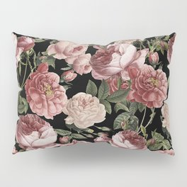 Vintage & Shabby Chic - Lush Victorian Roses Pillow Sham