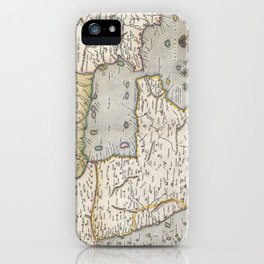 Middle East - Mercator - 1584 iPhone Case