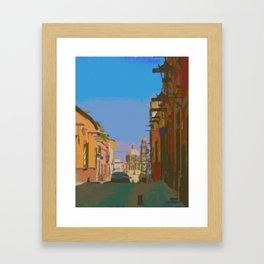 View on Recreo Framed Art Print