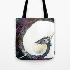 Cosmos Dragon Tote Bag