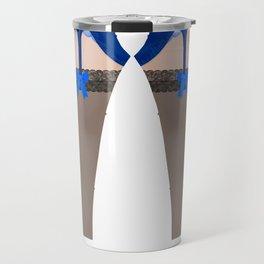 Lingeramas - Sexy Royal Blue Lingerie Top Travel Mug