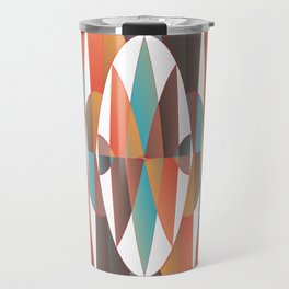Colorful geometric abstract Travel Mug