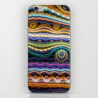 stripe iPhone & iPod Skins featuring stripe by Antracit