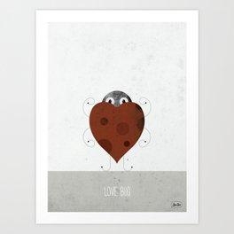 Love Mug Art Print