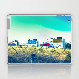 Casas de colores Laptop & iPad Skin