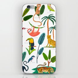 Jungle Creatures iPhone Skin