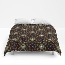 Metallic Deco Wine Comforters